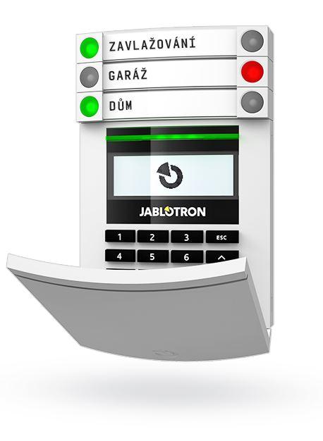 zabezpečení domu Jablotron